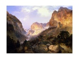 Golden Gate, Yellowstone National Park Giclee Print by Thomas Moran
