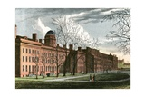American Colleges Series: Columbia University and College Green in 1830 Giclee Print