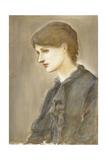 Portrait of Mrs. William J. Stillman, Nee Marie Spartali Giclee Print by Edward Burne-Jones