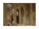 The Sermon (Durham Cathedral) Giclee Print by Albert Goodwin