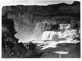 Shoshone Falls, Snake River, Idaho Photographic Print by Timothy O' Sullivan