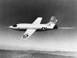 1940s-1950s Bell X-1 US Air Force Plane Photographic Print