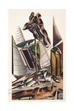 Illustration from the Enemy Giclee Print by Wyndham Lewis