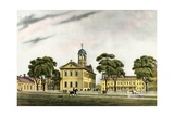 American Colleges Series: Harvard University in 1828 Giclee Print
