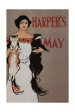 Harper's May Illustration Giclee Print by Edward Penfield