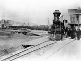 President Abraham Lincoln's Funeral Train Reproduction photographique