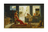 Pompeii Antiques Giclee Print by Ettore Forti