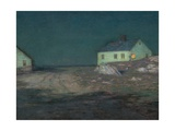 The Harbor Light, New York Giclee Print by Birge Harrison