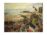 The Blessing of the Sea Giclee Print by William Morison Wyllie