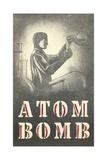 Atom Bomb Chemist Giclee Print