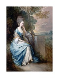 Portrait of Anne, Countess of Chesterfield Giclee Print by Thomas Gainsborough