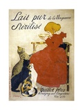 Lait Pur Sterilise Poster Giclee Print by Théophile Alexandre Steinlen