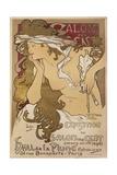 Salon Des Cent Giclee Print by Alphonse Mucha