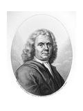 Portrait of Herman Boerhaave Giclee Print