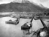 Arriving in Skagway Photographic Print