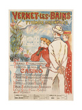 Vernet-Les-Bains Giclee Print by Théophile Alexandre Steinlen