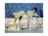Lady on a Divan Giclee Print by Julius Leblanc Stewart