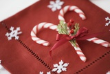 Festive Christmas Place Setting Photographic Print by Tammy Hanratty