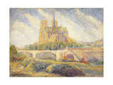 Notre Dame Giclee Print by Hippolyte Petitjean