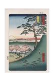 Original Fuji, Meguro Giclee Print by Ando Hiroshige