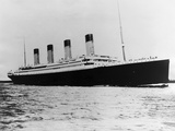 The Titanic Sails on the Ocean Photographic Print