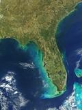Florida Peninsula Reprodukcja zdjęcia