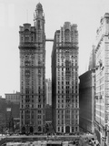 Trinity and U.S. Realty Buildings, New York Photographic Print by Irving Underhill