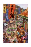 The Feast of Lanterns Celebration in Chinatown, Pacific Grove, California Giclee Print