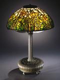 Tiffany Studios 'Daffodil' Leaded Glass and Bronze Table Lamp - Fotografik Baskı