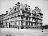 Exterior View of Cornelius Vanderbilt Ii Residence Photographic Print by J.S. Johnston