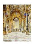 La Martorana, Palermo Giclee Print by Josef Theodor Hansen