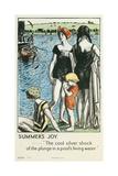 Summer's Joy, Swimming Giclee Print