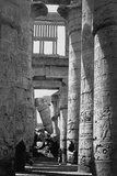 Incised Columns of Temple of Amon Photographic Print by Francis Frith