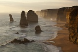 Twelve Apostles Sea Stacks in Australia Lámina fotográfica por Paul Souders