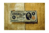 Five Dollar Bill Giclee Print by Victor Dubreuil