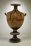 An Apulian Red-Figure Hydria and Stand Photographic Print