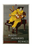 Toute La Musique, Tous Les Instruments Poster Giclee Print by Betto Lotti