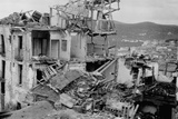 War Damage in Spain Photographic Print