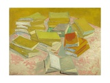 Piles of French Novels Giclee Print by Vincent van Gogh