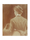 A Tennis Player; Study for 'Memories' Giclee Print by Fernand Khnopff