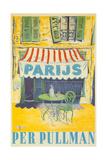 Parisian Outdoor Cafe, Per Pullman Giclee Print