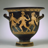 An Apulian Red-Figure Bell Krater Depicting an Amazonomachy Photographic Print