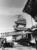 Commissioning Ceremony of Uss Dwight D. Eisenhower Photographic Print