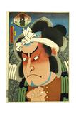 Nakamura Nakazo I as Ryoshi Fukashichi Giclee Print by  Utagawa Kunisada and U. Yoshitora