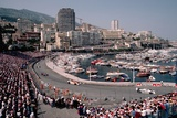 Monaco Grand Prix Photographic Print by Vittoriano Rastelli