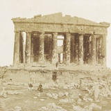 View of the Parthenon from the West Photographic Print by James Robertson