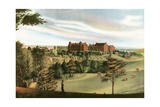 American Colleges Series: Georgetown University in 1830 Giclee Print