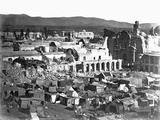 Arequipa, Peru after an Earthquake, Ca. 1868 Photographic Print