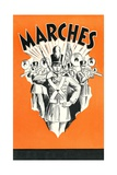 Marching Band Giclee Print
