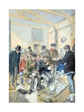 Soup Kitchen Paris (April 1903) Giclee Print